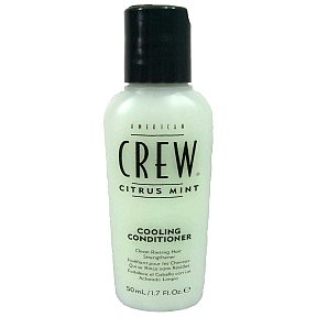 American Crew Cooling Conditioner - Citrus Mint BC3-0274102-8200 - 1.7 fl oz cooling conditioner in travel size plastic bottle. Clean rinsing hair strengthener.