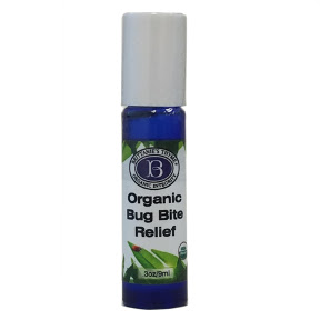"Brittanie's Organic Bug Bite Relief BP3-0161401-8200 - 0.5 oz roll-on organic bug bite relief in travel size glass bottle. This product is family friendly, even for the ""littlest ones."" USDA Certified."