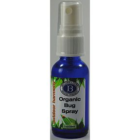 Brittanie's Thyme Organic Insect Repellent BP4-0161401-8200 - 1 oz organic insect repellent in travel size glass bottle with pump dispenser. USDA Certified. A safe and effective organic insect repellent derived from five essential oils.