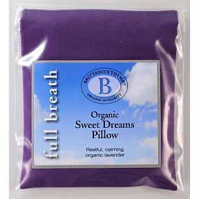 Brittanie's Thyme Organic Sweet Dreams Pillow BV3-0461401-9200 - Lavender scent aides in relaxation and restful sleep.