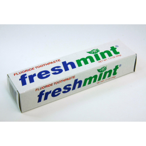 Find A Code >> Freshmint Toothpaste - 1.5 oz tube in a box - Travel Size
