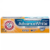 Arm & Hammer Advance White Toothpaste C01-0119302-4100 - 0.9 oz travel size toothpaste tube. Fresh mint.