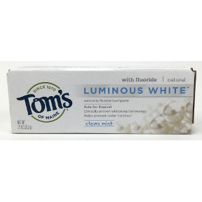 Toms of Maine® Luminous White Clean Mint Toothpaste, C01-0165203-4100