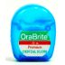 OraLine Dental Floss - plain C01-0528404-9000 - 10 meters of floss in travel size plastic dispenser.