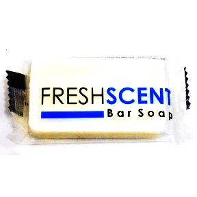 Freshscent Bar Soap 3/4 C02-0114302-8200-0.5 oz bar of soap. Individually packaged.