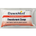 DawnMist Antibacterial Deodorant Soap3 C02-0117501-8500 - Approx. 2.5 oz travel size bar soap. Wrapped.