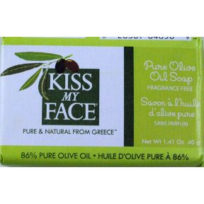 Kiss Face Products on Kiss My Face Pure Olive Oil Bar Soap C02 0131702 820 1 41 Oz Wrapped