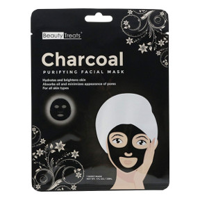 Beauty Treats® Charcoal Purifying Facial Mask, C02-0148114-1400