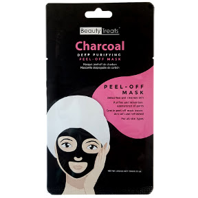 Beauty Treats®  Charcoal Deep Purifying Peel-Off Mask C02-0148114-1401