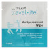 LA Fresh Travel Lite™ Unisex Antiperspirant Wipe C02-0216800-1000 - 1 unisex antiperspirant wipe in sealed travel size packet.