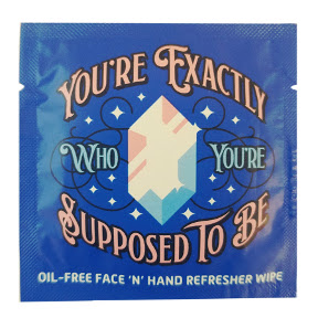 LA Fresh® You're Exactly Who You're Supposed To Be - Face and Hand Refresher Wipe C02-0216806-1000