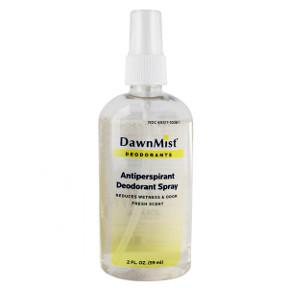 Dawnmist Antiperspirant Deodorant Spray Pump Travel Size Amp Miniature Products Superstore
