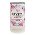 Crystal Stick Body Deodorant C02-0251601-8200 - 1.5 oz travel size deodorant. Stick with screw-on cylindrical plastic cover. Natural, hypoallergenic, and fragrance free.