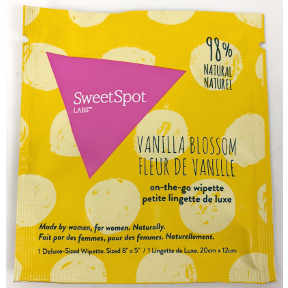 SweetSpot Labs® on-the-go wipettes- Vanilla Blossom, C02-0252104-1000