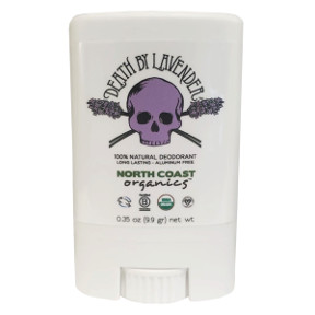 Death by Lavender All Natural Deodorant C02-0286802-8100-0.35 fl. oz. All Natural Deodorant. Organic. Vegan. Homemade.