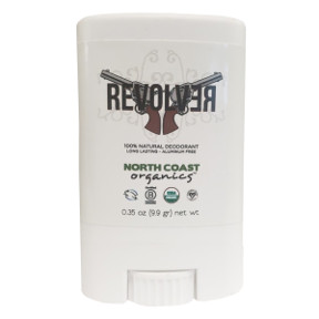 Revolver All Natural Deodorant C02-0286803-8100-0.35 fl. oz. All-Natural Deodorant. Organic. Vegan. Handmade.