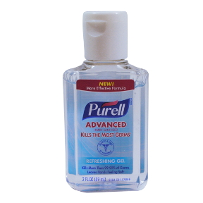 Purell Instant Hand Sanitizer 2 oz flip top C02-0320804-8300 - 2 oz plastic bottle
