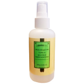 aMINIties Topical Solution Hand Sanitizer Spray Pump - 4 oz C02-0332501-8400