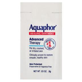 Aquaphor Healing Ointment Packet Travel Size