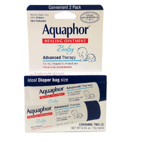 Aquaphor® Baby Healing Ointment To-Go Pack C02-0359802-8200-Two (2) 0.35 oz. tubes of healing ointment for baby.