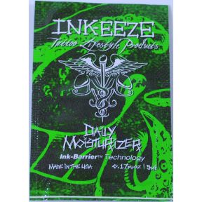 Ink-eeze Tattoo Daily Moisturizer packet C02-0370004-1000 - 0.17 oz (5 ml) packet
