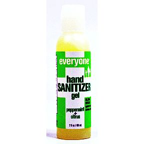 Everyone® Hand Sanitizer Gel - Peppermint+Citrus C02-0385902-8400-2 Fl. Oz. squeeze bottle. 99.9% effective against most common germs. Clean Hands Now.