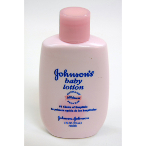 Johnsons Baby Lotion C02-0520401-8200 - 1 fl oz travel size baby lotion in plastic bottle. #1 choice of hospitals. Clinically proven mildness.