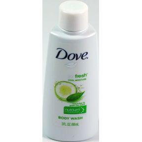 Dove Body Wash Go Fresh Cool Moisture 3 Oz Travel Size