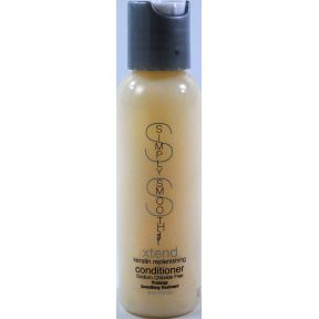 Simply Smooth Xtend Keratin Replenishing Conditioner C03-0278401-8200.2 fl oz in plastic bottle.