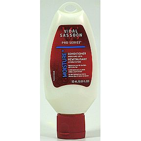 Vidal Sassoon Pro Series Moisture Conditioner C03-0278502-8200-50 ml (1.69 FL OZ) of Pro Series Moisture Lock Conditioner. Made in USA.