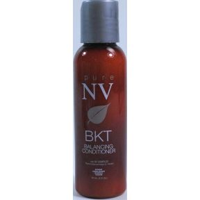 Pure NV BKT Balancing Conditioner C03-0279801-8200 - 2 fl oz travel size conditioner in plastic bottle.