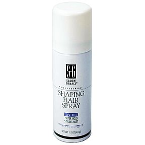 Salon Grafix Professional Shaping Hair Spray - Unscented Super Hold 1.5 oz C03-0470903-8200