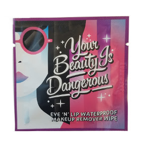 LA Fresh® Your Beauty Is Dangerous - Waterproof Makeup Remover Wipe C05-0216801-8103