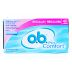 O.B.® Pro Comfort (40 count) C08-0162102-8200-40 silktouch, regular absorbency tampons in a single package.