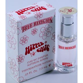 True Religion Hippie Chic Eau de Parfum Natural Spray C11-0182303-8200 - .25 fl oz bottle in box