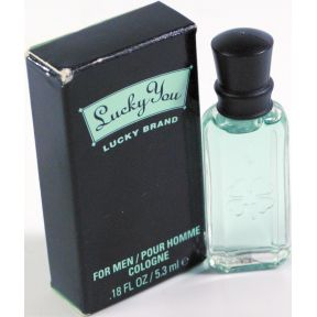 Lucky You Lucky Brand Cologne for Men C11-0480901-8200 - .18 fl oz bottle in box