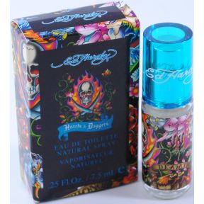 Ed Hardy Hearts & Daggers Eau de Toilette Spray C11-0481201-8200 - .25 fl oz spray pump bottle in box