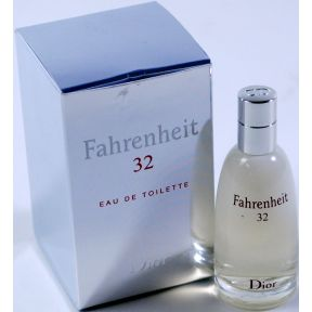 Fahrenheit 32 by Dior Eau de Toilette C11-0482201-8200 -.34 fl oz bottle in box