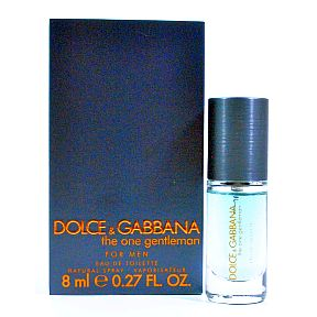 Dolce&Gabbana The One Gentleman Eau de Toilette C11-0482211-8200-0.27 fl. Oz. bottle in box. Natural Spray.
