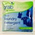 grabgreen 3-in-1 laundry detergent - fragrance free (packet) D01-0164401-1200 - 18 g (0.63 oz) single use packet.