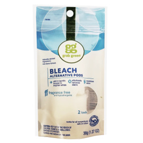 grabgreen® bleach alternative pods -fragrance free D01-0364401-8200
