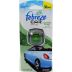Febreze Car Vent Clip Meadows & Rain D02-0176408-9100 - 2 ml travel size car air freshener.