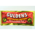 Gulden's Spicy Brown Mustard F01-0200501-1100 - 9 gram packet spicy brown mustard, individual size. 100% Natural.