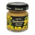 Dickinson's® Stone Ground Mustard Jar F01-0238501-3100-1.4 oz glass jar.