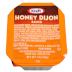 Kraft® Honey Dijon Sauce Dipping Cup F01-0400320-2100-1 oz. individual serving size, sealed cup.