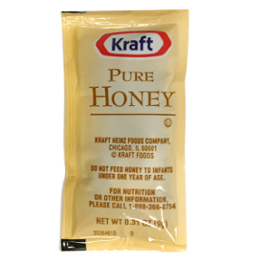 Kraft Pure Honey Packet F01-0500301-1100 -0.31 oz packet