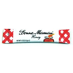 Bonne Maman® Honey Stick F01-0544401-1100-1/2 oz. individual stick of Honey.