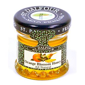 St. Dalfour Acacia Honey (jar) F01-0548301-3100 - 1 oz acacia honey in glass jar. From France.