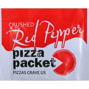 Pizza Packet Crushed Red Pepper F01-0971401-1100 - .03 oz packet