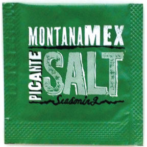 Montana Mex Picante Salt Packet F01-0988203-1100 - 0.75 gram single use packet.